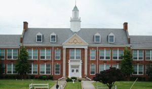 Dinwiddie Elementary School building exterior