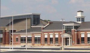 Dinwiddie High School building exterior