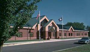 Dinwiddie Middle School building exterior