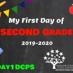 2nd Grade First Day Photo Board