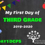 3rd Grade First Day Photo Board