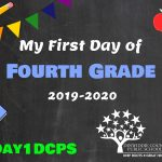 4th Grade First Day Photo Board