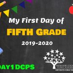 5th Grade First Day Photo Board