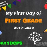DES 1 First Day Photo Board