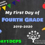 DES 4 First Day Photo Board