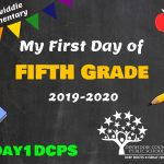 DES 5 First Day Photo Board