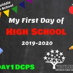 DHS First Day Photo Board