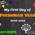 DHS Freshman First Day Photo Board