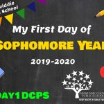 DHS Sophomore First Day Photo Board