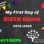 DMS 6 First Day Photo Board