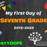 DMS 7 First Day Photo Board