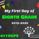 DMS 8 First Day Photo Board