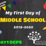 DMS First Day Photo Board