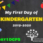 Kindergarten First Day Photo Board