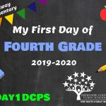 MES 4 First Day Photo Board