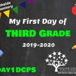 SES 3 First Day Photo Board