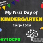SES K First Day Photo Board
