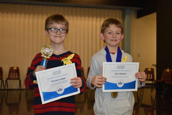 2019 SUT Spelling Bee Winners