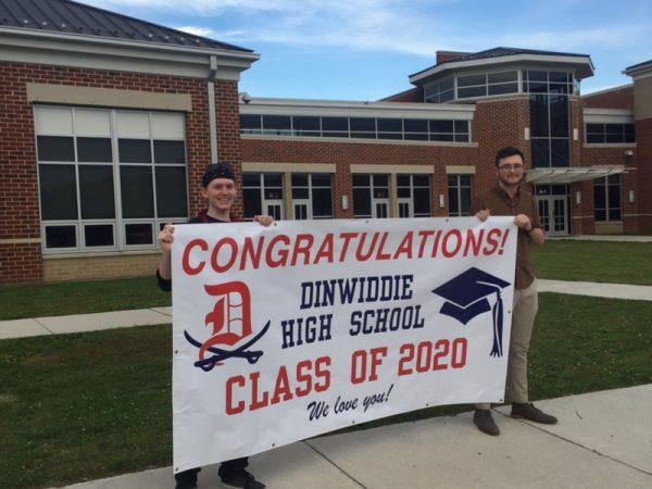Congratulations Dinwiddie High School Class of 2020! We love you!