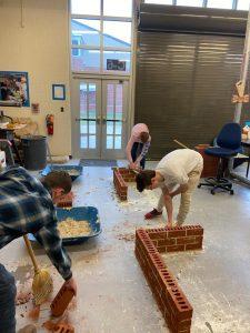 masonry competition at DHS