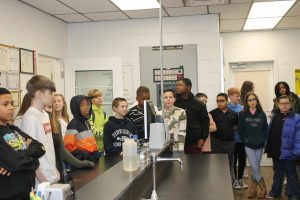 Students visit Water Treatment Plant