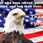 To all who have served, continue to serve, and have lost their lives... Thank you!