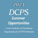 2021 Summer Opportunities