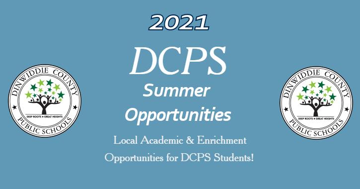 2021 DCPS  Summer Opportunities