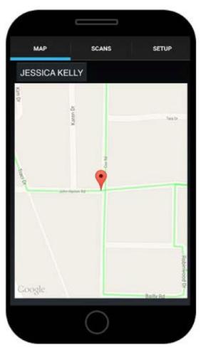 AppOnPhone Map