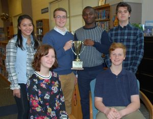 DHS Scholastic Bowl Team 2019 Region Champs web large