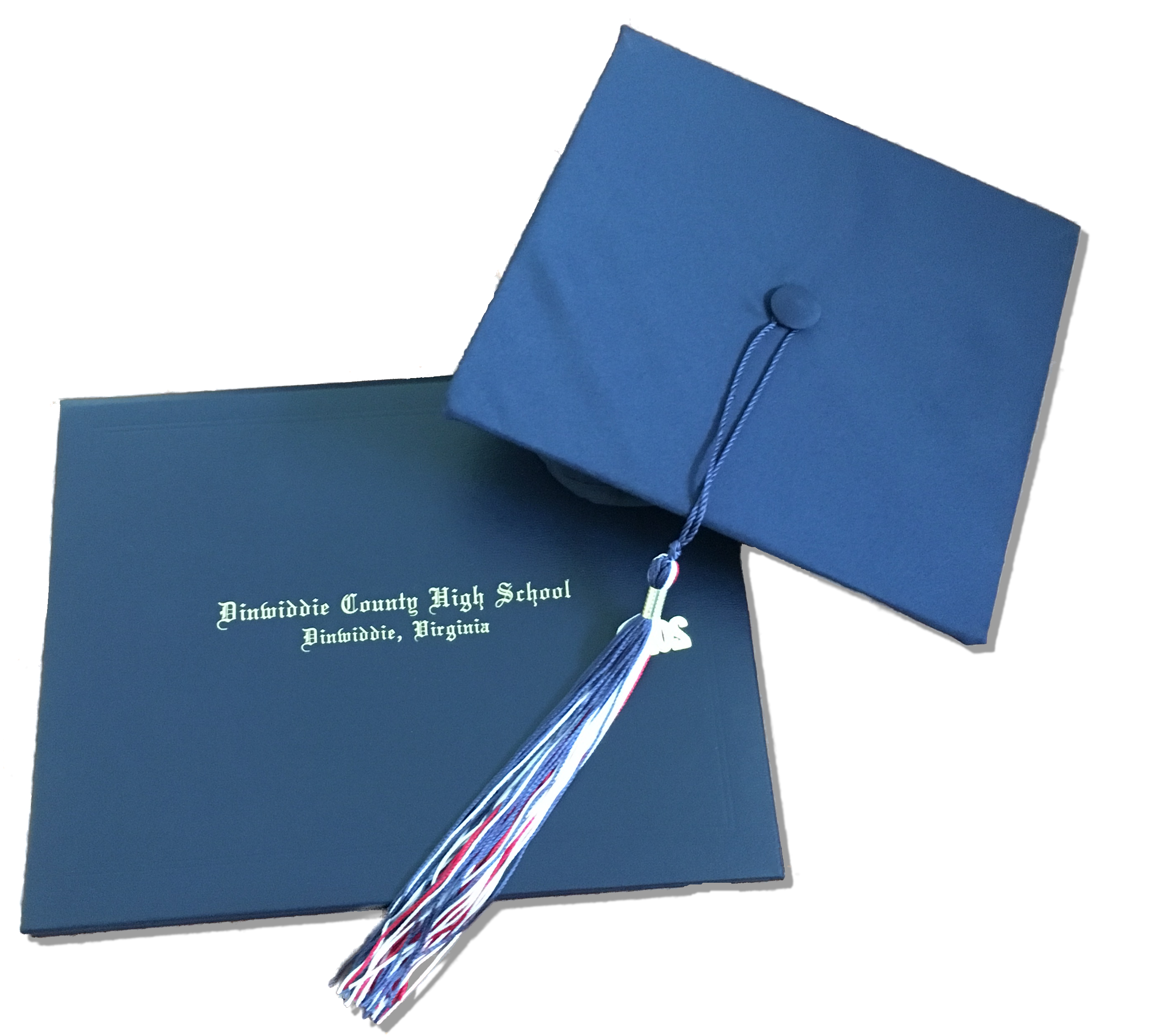 DHS Diploma and cap with tassle