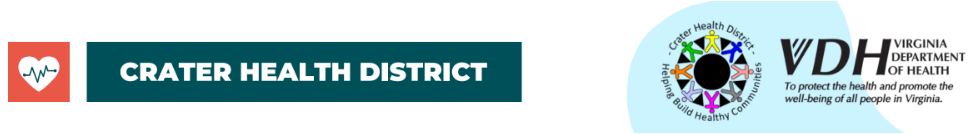Logo for Crater Health District VDH