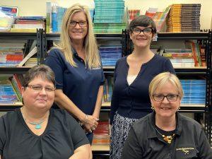 Title I Team: Ms. Moring, Ms. Spengler, Ms. Pemberton, Ms. Brisendine