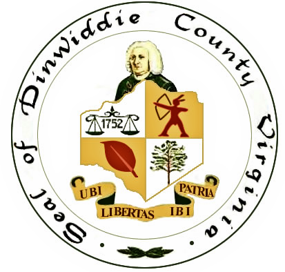 Dinwiddie County, Virginia, Official Seal